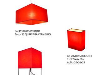 Linha Square by Candicova Indústria de Candeeiros e Abat-jours Lda.