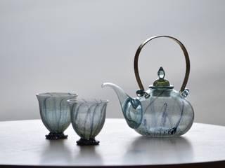 銀彩装飾 ちろり: 田井将博 グラスタイムが手掛けた現代のです。,モダン