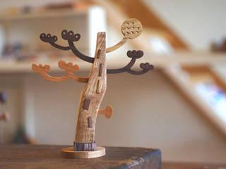 木のオブジェ  Art object of the tree.: アトリエつみき屋が手掛けたです。