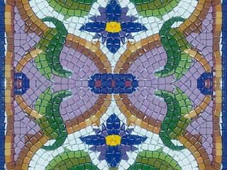 Столешница:  в . Автор – Мастерская художественной мозаики 'SMALTO'