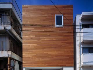 Maisons modernes par 有限会社アルキプラス建築事務所 Moderne