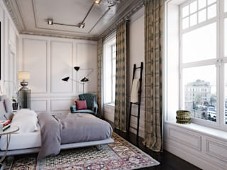 Eclectic style bedroom by MARION STUDIO Eclectic