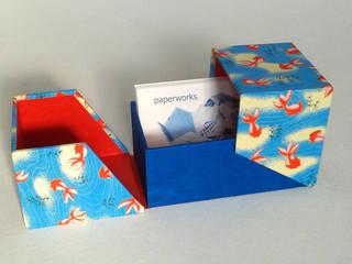 Boîte à cartes de visite par Paperworks Asiatique