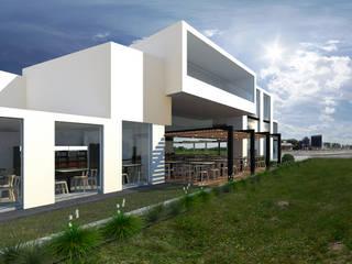 Estación MPC Gastronomía de estilo moderno de María Florencia Funes Moderno