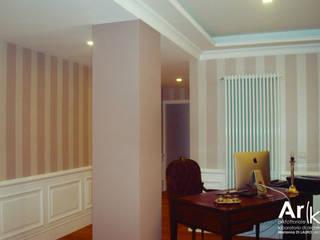 M+M_House Soggiorno classico di arkfattoriale Classico