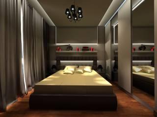 Sypialnia dla młodych od ZAWICKA-ID Projektowanie wnętrz
