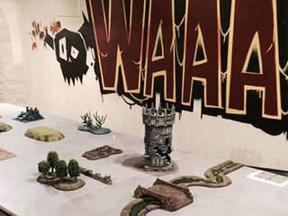 Waaagh Taverne Murs & Sols modernes par MC Architecture Moderne