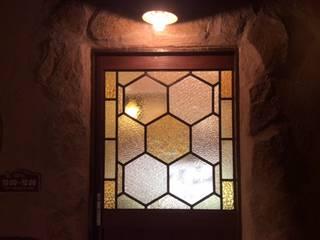 はちみつ屋さんのステンドグラス クラシカルな 窓&ドア の ステンドグラス工房すずらん クラシック