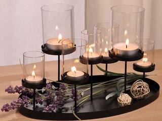Windlicht mit 7 Kerzenhaltern: modern  von Lesara,Modern