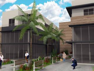 Centro Comercial: Edifícios comerciais  por Estúdio Criativo Arquitetura e Interiores,Moderno