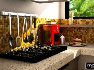 Cocina Pequena Cocinas modernas de Modulor Arquitectura Moderno