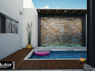 Modern Pool by Modulor Arquitectura Modern