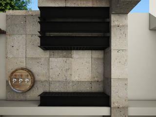 Casa GG Balcones y terrazas modernos de Modulor Arquitectura Moderno