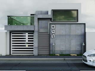 Modern Houses by Modulor Arquitectura Modern