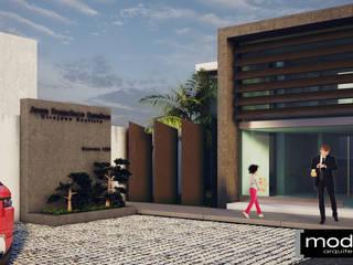 Proyecto BioDental Clinic Clínicas y consultorios médicos de estilo moderno de Modulor Arquitectura Moderno
