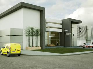 Edificio de Oficinas Edificios de oficinas de estilo moderno de Modulor Arquitectura Moderno