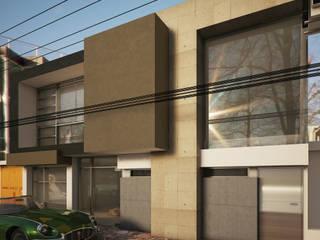 Salon de Fiestas Locaciones para eventos de estilo moderno de Modulor Arquitectura Moderno
