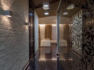 Современная квартира 180 м.кв. в центре Москвы Коридор, прихожая и лестница в стиле лофт от ARTteam Лофт
