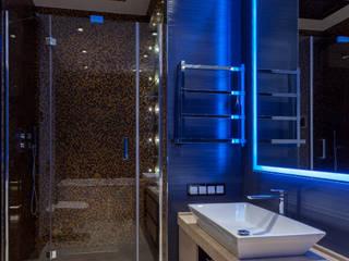 Современная квартира 180 м.кв. в центре Москвы Ванная в стиле лофт от ARTteam Лофт