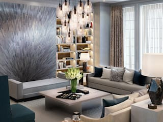Knightsbridge Private Park, Moscow Modern Living Room by LINLEY London Modern