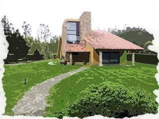GALERÍA: Casas de estilo  de ARQUITAV ARQUITECTOS, S.L.P.