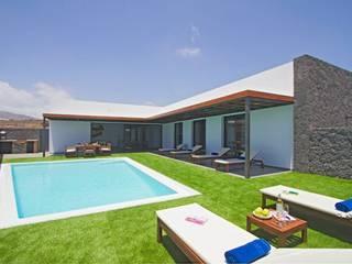 VIVIENDA UNIFAMILIAR AISLADA: Casas de estilo  de MMTarquitecto