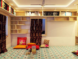 Study Room by Creazione Interiors