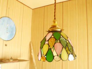 しずくのランプ: Bloom Glassが手掛けた折衷的なです。,オリジナル