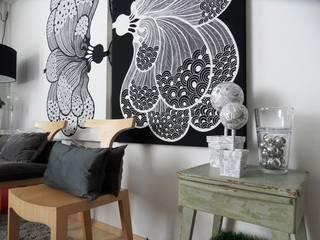 Alfredo Herrera Design: Salas de estilo moderno por Alfredo Herrera Design