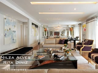 Salon moderne par Nilza Alves e Rita Diniz Moderne