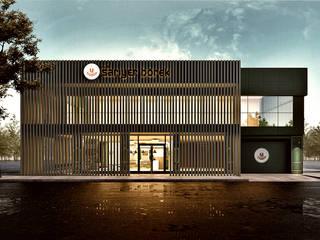 Penintdesign İç Mimarlık  – Sarıyer Börek - Fabrikası için Konsept:  tarz Yeme & İçme
