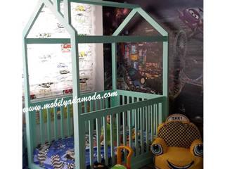 MOBİLYADA MODA Nursery/kid's roomBeds & cribs Wood Turquoise