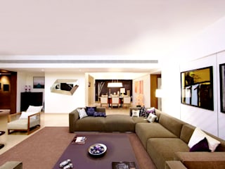 ABIL Experience Center - Castle Royale T4 Modern living room by Aijaz Hakim Architect [AHA] Modern