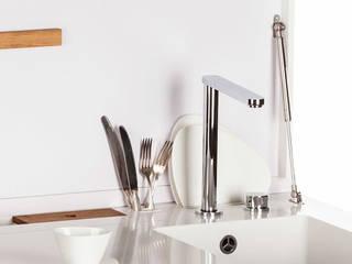 Charlotte Raynaud Studio KitchenBench tops White
