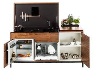Des mini-cuisines spécialement conçues pour les petits espaces Charlotte Raynaud Studio CuisinePlans de travail