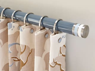 Lacquered Curtain Poles: modern  by Walcot House, Modern