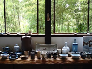 白岩焼和兵衛窯ギャラリー「白溪荘」 の 白岩焼和兵衛窯 コロニアル