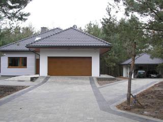 Nowoczesny dom LIV 3 G2 - przytulnie i pięknie! Nowoczesne domy od Pracownia Projektowa ARCHIPELAG Nowoczesny