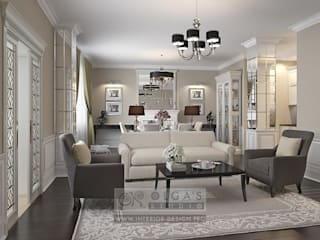 Salas de estilo clásico de Olga's Studio Clásico
