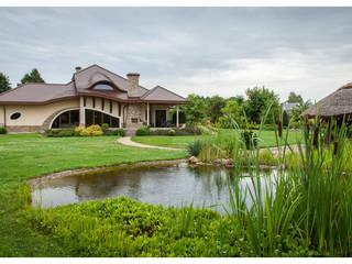 Dom Henryk G1 - reprezentacyjna rezydencja w stylowym klimacie : styl , w kategorii Domy zaprojektowany przez Pracownia Projektowa ARCHIPELAG,Klasyczny