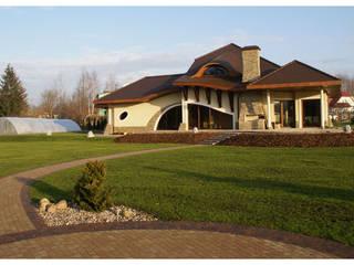 Dom Henryk G1 - reprezentacyjna rezydencja w stylowym klimacie Klasyczne domy od Pracownia Projektowa ARCHIPELAG Klasyczny