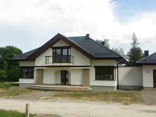 Dom Edward G2 - stylowe piękno i maksimum wygody! Nowoczesne domy od Pracownia Projektowa ARCHIPELAG Nowoczesny