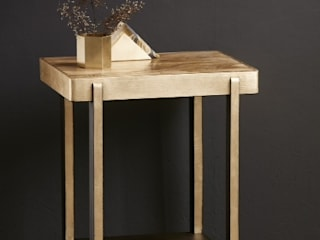 PatyNowy Living roomSide tables & trays Wood Amber/Gold