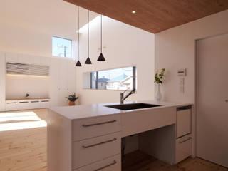 池上の家: アトリエ スピノザが手掛けたキッチンです。
