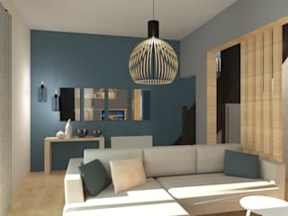 COLOMBE MARCIANO Scandinavian style living room