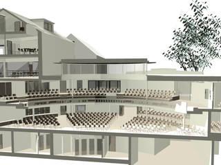 Umbau der städtischen Wagenhallen zum Gemeindezentrum:   von Noesser Padberg Architekten GmbH