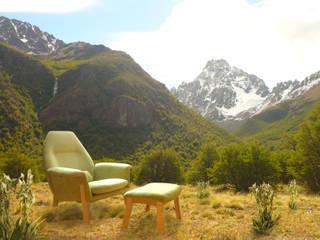 SILLON ORQUIDEA:  de estilo  por TocToc - Muebles y Objetos Argentinos,