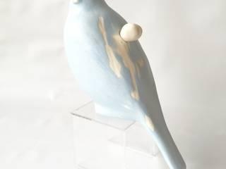 空シリーズ sky series: 陶刻家 由上恒美                                          Ceramic Sculptor  tsunemi yukami  が手掛けた現代のです。,モダン