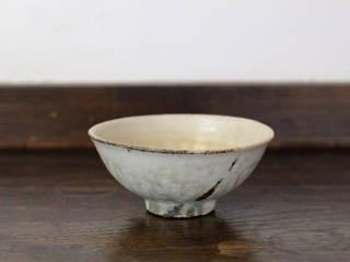 灰粉引飯碗: 八木 信樹が手掛けたアジア人です。,和風