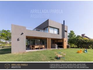 Casas de estilo  por ARRILLAGA&PAROLA, Moderno
